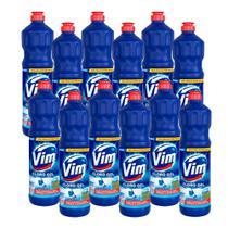 Kit 12 Desinfetantes Vim Multiuso Cloro Gel Original 700ml -