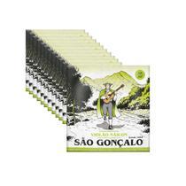 Kit 12 Encordoamento Violão São Gonçalo Nylon Com Bolinha -
