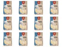 Kit 12 Extrato Soja Leite de Soja em Pó Vegano 500g Grings -