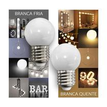Kit 12 Lampada Bolinha Led 2,5W Penteadeira Camarim - Jdk Iluminação