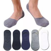 Kit 12 pares meia sapatilha  tamanho 34 ao 40 cores mescladas - Hangar