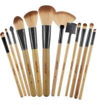 Kit 12 Pincéis Profissionais Maquiagem Kp1-2g Macrilan -
