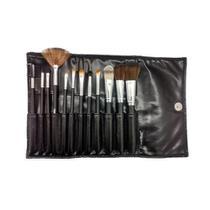Kit 12 Pincéis Profissionais para Maquiagem Macrilan KP1-2D -
