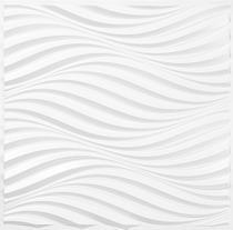 Kit 12 Placas Auto Adesiva 3D Revestimento Paredes 3m² - sahara - Casa Black White