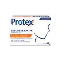 Kit 12 Sab Facial Protex Anti Cravos Ação Adstringente 85g -