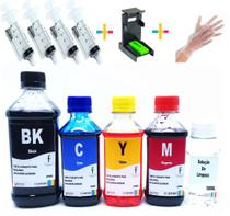 Kit 1350ml Tinta Recarga Cartucho Hp Snap 664 662 122 901 74 - Formulabs