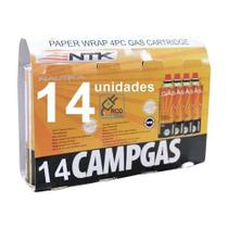 Kit 14 Unidades De Refil Campgás Original Nautika - Ntk -