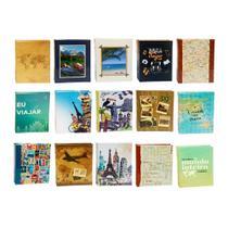 Kit 15 álbuns 500 fotos 10x15 atacado varios modelos - Ical