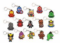 Kit 15 Chaveiros Marvel Os Vingadores Homem De Ferro Thor - Accescar