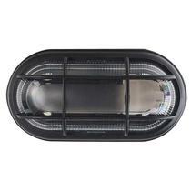 Kit 15 Luminária Tartaruga Externa Preta Com Grade E27 - OPL -