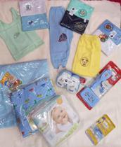 kit 15 peças enxoval maternidade - CIA DO BEBE
