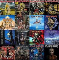 Kit 16 Cds Iron Maiden - The Studio Collection - Remastered - Warner Music