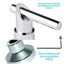 Kit 17 Acabamentos 3/4 Luxo Alavanca Registro Deca C69 - Brasil