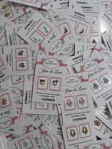 Kit 17 cartelas de  joias para unhas - Bh Peliculas