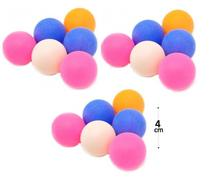 Kit 18 bolas de ping pong bolas tênis de mesa - Jilong