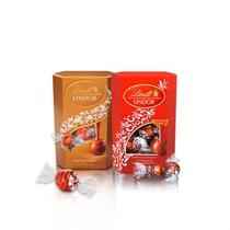 Kit 1x Chocolate Lindt Lindor Assorted 200g + 1x Chocolate Lindt Lindor Milk 200g