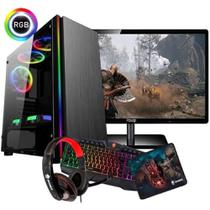 Kit 1x Pc Gamer Amd A4 6300 3.9 Ghz Gta 8gb 500g Roda Games - Imperiums