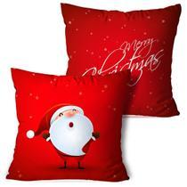 Kit 2 Almofadas De Natal Merry Christmas - Love Decor