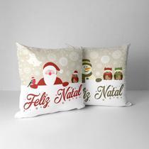 Kit 2 Almofadas Decorativa Feliz Natal! - Love Decor