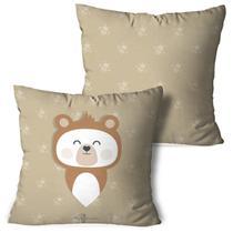 Kit 2 Almofadas Decorativas Urso All Leafman - Love Decor
