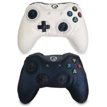 Kit 2 Almofadas Gamer Inspiradas no Controle de Video Game Xbox One PB - Camaleão preto