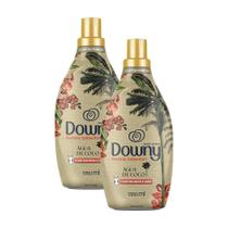 Kit 2 Amaciante Downy Fashion Collection Água De Coco 1,35l -