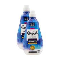 Kit 2 Amaciantes de Roupa Comfort Concentrado Intensivo Intense 1,5l -