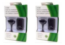 KIT 2 Bateria xbox 360 recarregavel + cabo carregador - Estrela -