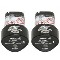 Kit 2 Baterias 12v Ion Lítio 1.3 Ah Makita Bl1014 -