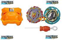 Kit 2 Beyblades Burst Turbo Slingshock + Arena Beyblade Burst - Hasbro -