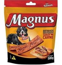 Kit 2 - Bifinho Magnus Mastigáveis Sabor Carne 500g - Agropet Nutrimed