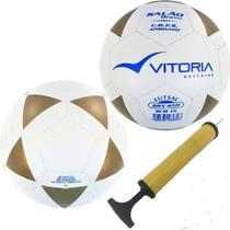 kit 2 Bolas Futsal Vitoria Brx 450 Sub 15 Juvenil + Bomba Ar - Vitoria Esportes