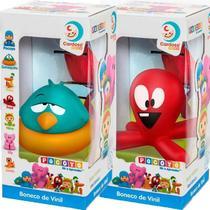 Kit 2 Bonecos Turma Do Pocoyo Fred E Sonequita Cardoso Toys -