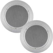 Kit 2 Caixa Acústica Arandela Som Teto Gesso 6 Pol 110w Rms - Orion - Orion Áudio