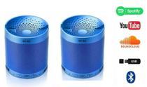 kit 2 Caixa Caixinha Som Portatil Via Bluetooth Mp3 Pendrive Pc - Q3