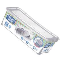 Kit 2 Caixa de Sapato Slim Transparente 1818 Organizador Sapateira Média 36x16x11,5 Cm Arthi -
