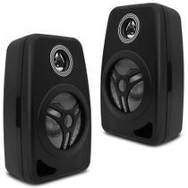 Kit 2 Caixas Acústica Som Ambiente Casa Sala Loja Bar Orion -