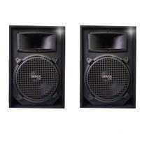 Kit 2 Caixas Acústica Som Music Way Top 12 1000w Rms Passiva -