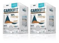 Kit 2 Caixas Equaliv Carbofit 20 Sachês 15g 100% Palatinose* -