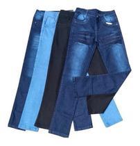 Kit 2  Calça Jeans Masculina Slim Com Elastano Lycra Atacado - Rt13 -