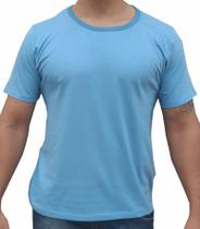 kIT 2 Camisa Azul Manga Curta Camisa Homem Camiseta - Camisa Masculino Homem Premium