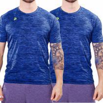 Kit 2 Camisetas Punnto Masculina Manga Curta Poliamida -