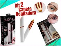 kit 2 Canetas Depiladora de Sobrancelha Indolor Branca - M&C