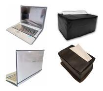 Kit 2 Capas Notebook 15 e Impressora SAMSUNG M2020 C/Porta Papel A4 Impermeável - Fullcapas