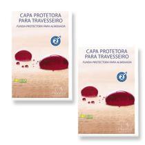 Kit 2 Capas Protetoras de Travesseiro Soft - Plooma -