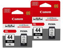 Kit 2 Cartuchos de Tinta Canon PG 44XL Preto - Original