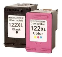 Kit 2 Cartuchos Tinta Compatíveis 122xl Ch563hb Ch564hb 2050 - Comptivel