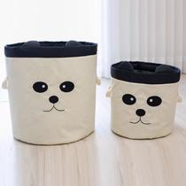 Kit 2 Cestos Organizadores De Roupa Ou Brinquedo Panda Menino ou Menina - Casa Pedro