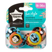 Kit 2 Chupetas Tommee Tippee  Fun Style (18 - 36 Meses) - 533362 - Tomme Tippie