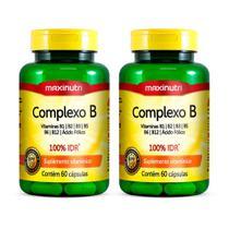 Kit 2 Complexo B - 60 cápsulas - Maxinutri -